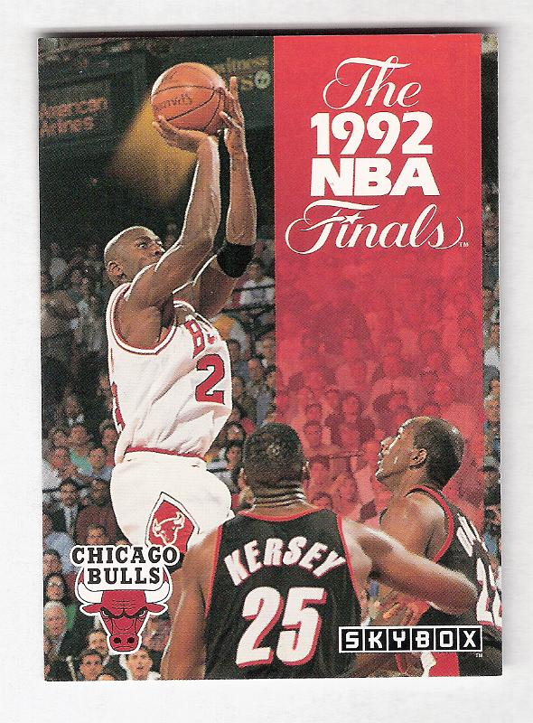 1992 - Collectors Can't Buy Enough Basketball Cards!/1992-93 SkyBox 314 The 92 NBA Finals